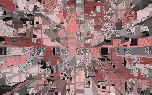 diepte x3  blokken van Groothuizen Foto Art