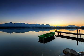 Hopfensee Sonnenuntergang von Frank Herrmann