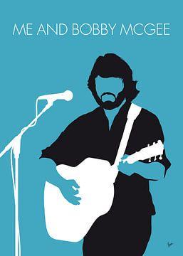 No285 MY Kris Kristofferson Minimal Music poster van