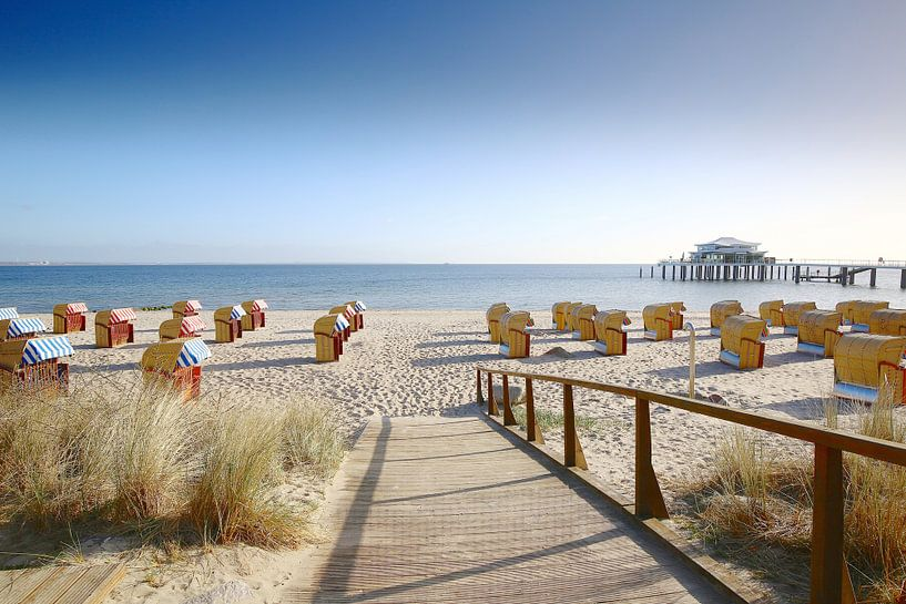 Oostzee vakantie op Timmendorfer Strand van Ursula Reins