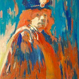 Rembrandt van Rijn van Nop Briex