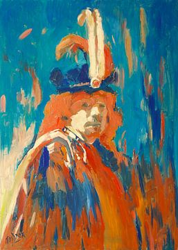 Rembrandt van Rijn von Nop Briex
