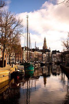Hoge Der A in Groningen Staand van Eugenlens