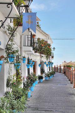 Mijas urbanizacione, Zuid Spanje von Tony Unitly