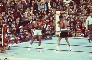 Ali vs Ken Norton kleur van Jaap Ros