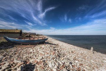 Verlorenes Boot auf Öland von Marc Hollenberg