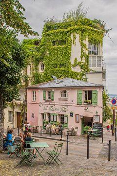 Montmartre, wijk in Parijs van Bianca Kramer