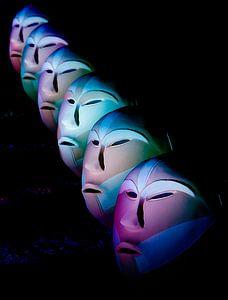 Pastel maskers van noeky1980 photography