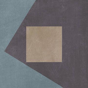 Blue Silk Abstract I, Avery Tillmon van Wild Apple