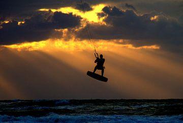kitesurfer van Rick van Zelst
