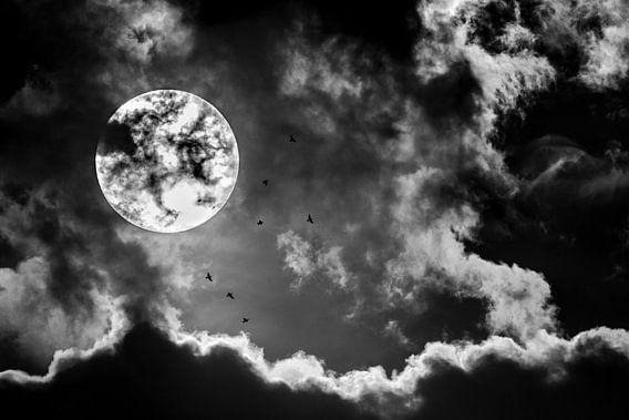 Wolkenlucht van Richard Guijt