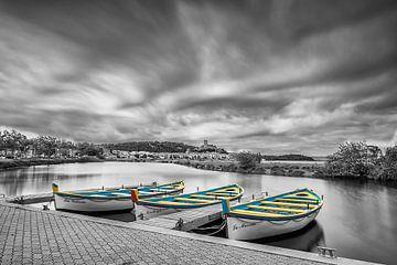 Trio de Barques von Catherine Fortin