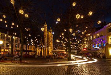 Onze Lieve Vrouweplein in Maastricht von Wim Roebroek