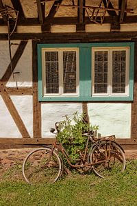 Een oude fiets van Berthold Werner