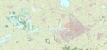 Kaart vanSmallingerland