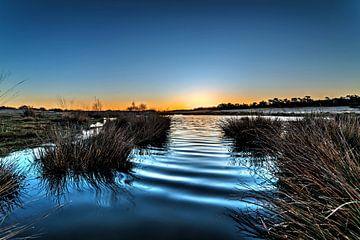 Sonnenaufgang Brabant von Rob Smit