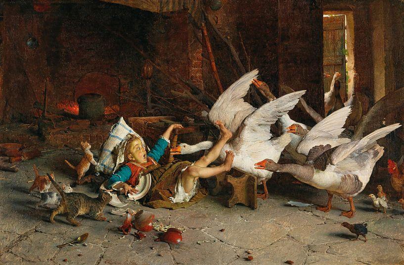 Eine Katastrophe, Gaetano Chierici von Meesterlijcke Meesters