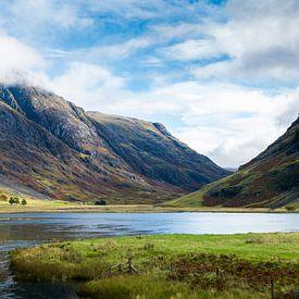 De pas van Glencoe in de Schotse highlands van Rob IJsselstein