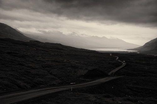 Weg landschap