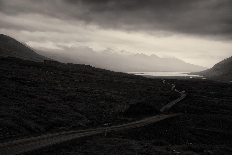 Weg landschap van Jip van Bodegom