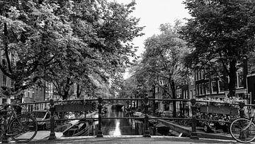 Amsterdam - Egelantiersgracht von Tony Buijse