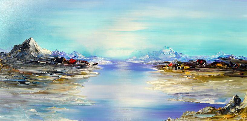 The Island van Gena Theheartofart