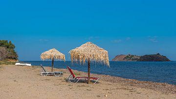 Strand auf Lesvos von