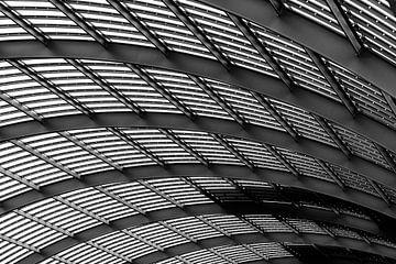 Decke des neuen Teils von Amsterdam Central Station von Bart Rondeel