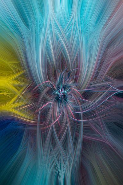 Digital abstract 28 van Leo Luijten