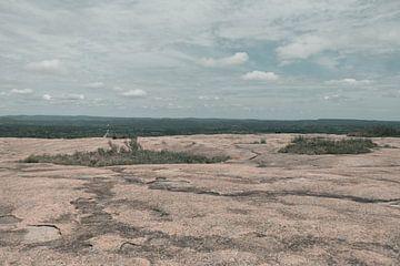 Het vlakke zandvlakte van By SK Photography