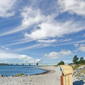 am Fehmarnsund,Ostsee von Peter Eckert