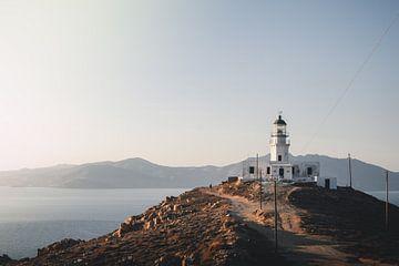 Goldene Stunde auf den griechischen Inseln von Tes Kuilboer