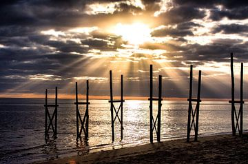 Strand von Texel von Arjan Boer