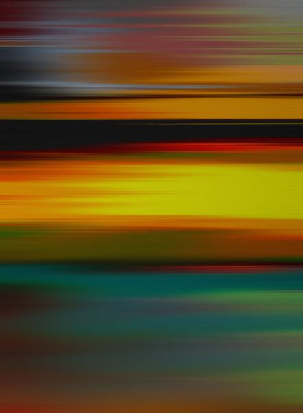 Paysage Abstrait 3 van Angel Estevez