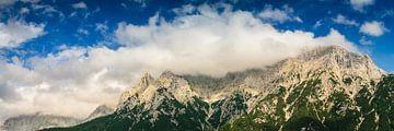 Karwendel Panorama van Martin Wasilewski