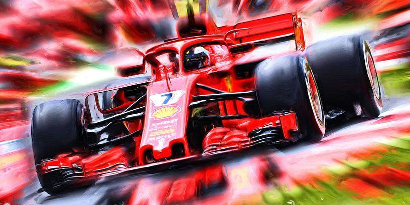 Kimi Räikkönen Season 2018 von Jean-Louis Glineur alias DeVerviers