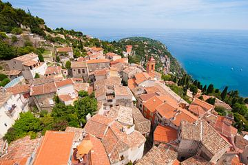 A Mountain Village in France sur