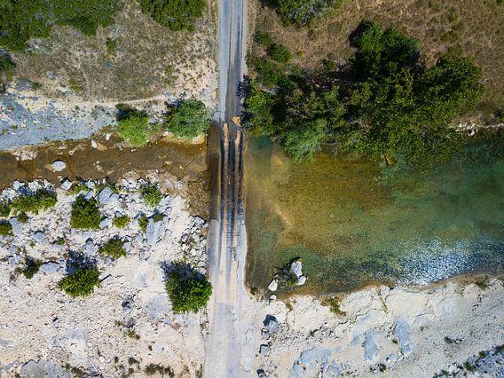 "The ""Flat Creek crossing"" in Texas"