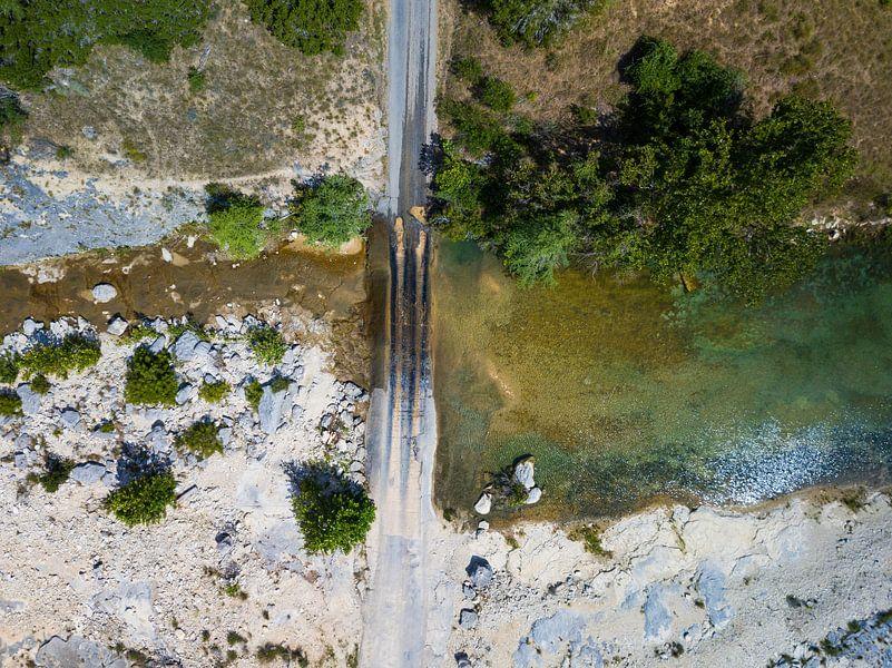 "The ""Flat Creek crossing"" in Texas van Droning Dutchman"