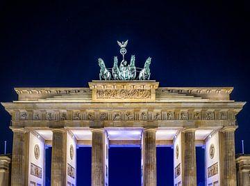 Brandenburg tor in Berlijn von Ruurd Dankloff