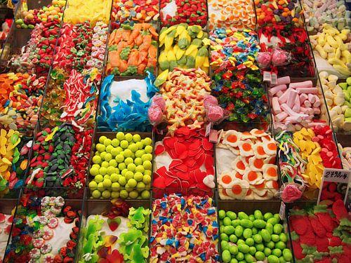 Kleurrijk snoepgoed in de snoepwinkel van iPics Photography
