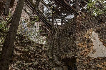Zusammengebrochenes Dach von Ans Bastiaanssen