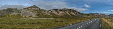 Snaefellsnes Landschaft, Iceland von Hans Kool