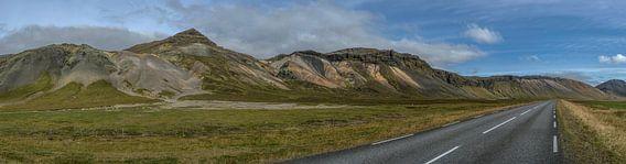 Snaefellsnes Landscape, Iceland van Hans Kool