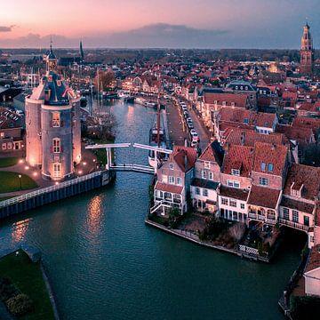 Der Hafen von Enkhuizen von Niels Tichelaar