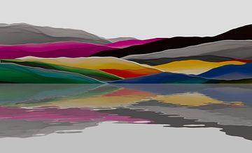 Montagnes colorées 3 van