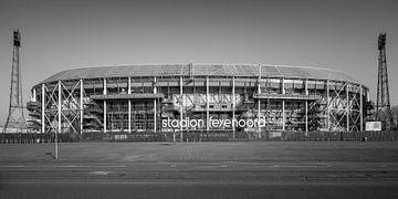 De Kuip | Stade Feyenoord | Rotterdam - zw sur Nuance Beeld