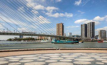 Erasmusbrug in Rotterdam von John Kreukniet