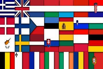 Vlaggen van de Unie 2: relief van
