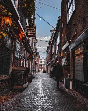 Die schönste Straße von Gouda. von Kyra de Putter